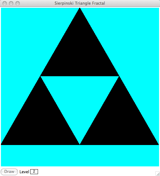 In Going To The Next Level We Replace Three Corners Of This Triangle With A 1 Which Gives Us 2